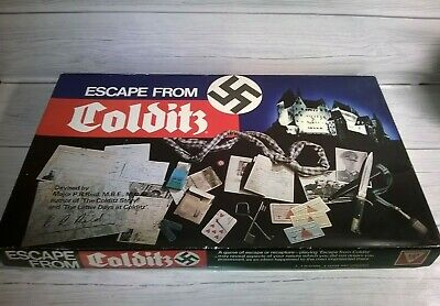 Gibson Games 1973 Escape From Colditz 100% Complete VGC Vintage Game • 39.99£