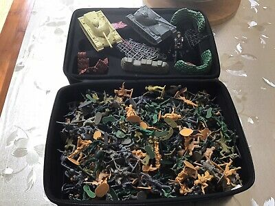 Large Collection Of Plastic Toy Soldiers Job Lot • 3.99£