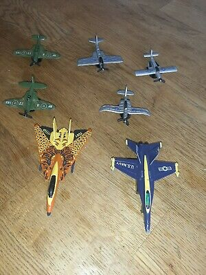 7 X Die Cast Toy Planes. One Of Them Is Matchbox. • 2.50£