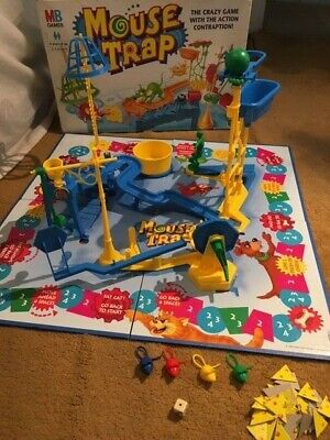 Mouse Trap Board Game - MB Games Hasbro - 1999 Edition • 9.99£