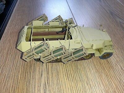 German Halftrack With Rocket Launchers 1/35 Assembled To A Good Standard • 29.99£