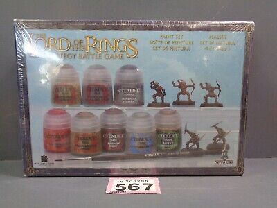 Warhammer Lord Of The Rings  Paint Set Bnib 567-788 • 15£
