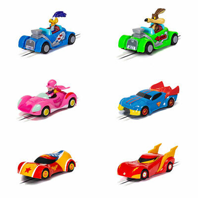 Micro Scalextric Car Looney Tunes Wacky Races Justice League 1:64 Car Choice • 14.25£