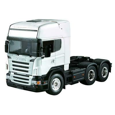 RC 1/14 3 Axle 02C High Crown Trailer Tractor Truck Model Car Midtop Shell Body  • 219.99£