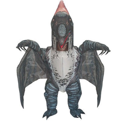 Adults Inflatable Dinosaur Costume Pterosaur Halloween Cosplay Party Fun Dress • 47.99£