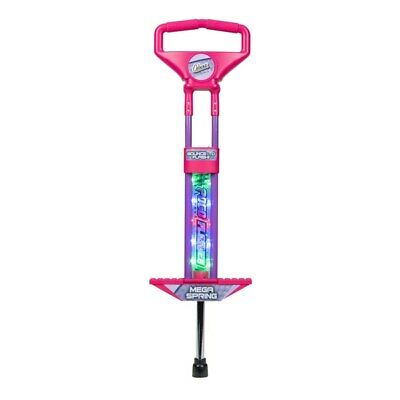 Pink Flashing Pogo Stick Kids Fun Outdoor Creative Jump Activity Bouncing Toy  • 34.99£