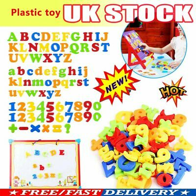 78PCS Gift Learning Toy Fridge Magnetic Alphabet Letters Magnets Xmas Numbers OR • 6.70£