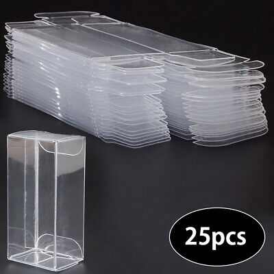 25PCS Clear Plastic PVC Display Box Show Case For 1:64 Diecast Model Toy Cars  • 8.79£