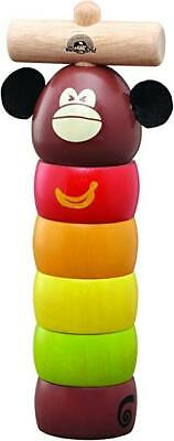 Wooden Knock Out Monkey Cause And Effect Toy • 13.99£