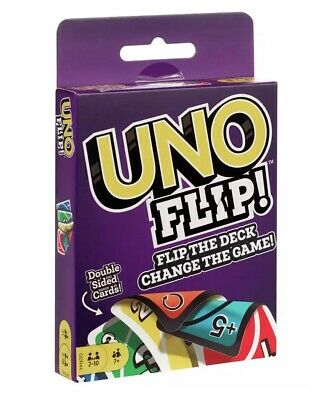 UNO FLIP Card Game 112 CARD Party Game Great Family Fun UK Seller FAST FREE POST • 2.97£