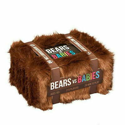 Bears Vs Babies - A Monster-Building Card Game - Family-Friendly Party Game • 15.99£