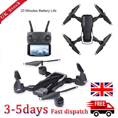 RC Drones L103 2.4G With 1080P HD Camera WIFI FPV Foldable LF609 Quadcopter UK • 26.50£