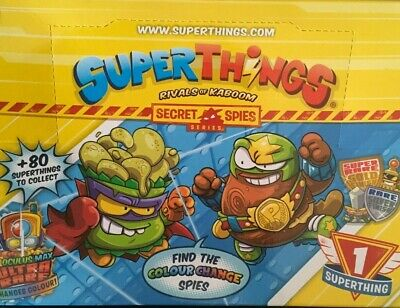 Superthings Superzings Secret Spies Series Choose Your Figure New From Packaging • 8.95£