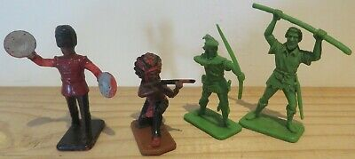 Rare Vintage Kellogg's Toy Figures Robin Hood, Little John Good Condition • 20£