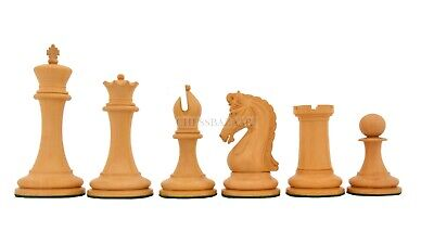 Repro 90s Imperial Collector Chess Pieces In Bud Rose Wood & Box Wood  4.4  King • 417.99£