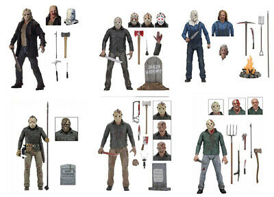 UK 7'' Friday The 13th Ultimate Jason Voorhees Action Figure NECA Toy Gift W/Box • 23.98£