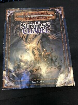 The Sunless Citadel Adventure - Dungeons And Dragons 3rd Edition Wotc D20 • 12.99£