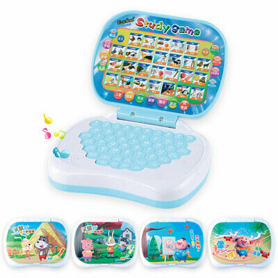 Laptop English Learning Computer Pre School Toy Gift For Boy Baby Girl Child Kid • 7.23£