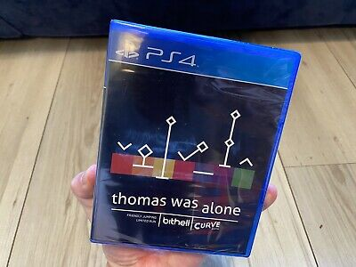 Thomas Was Alone PS4 Limited Run #22 Rare Video Game - NEW SEALED • 29.97£