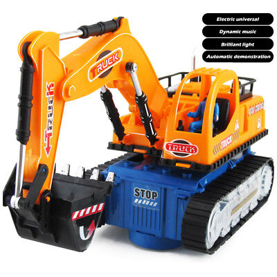 Toys For Kids Toddler LED Truck Excavator 3 4 5 6 7 8 9 Age Boys Cool Xmas Gift • 13.97£
