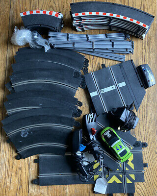 Bundle Of Scalextric Track Controllers And Car • 20£