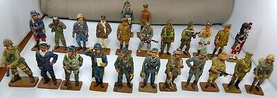 24 Del Prado 2000 Collection Lead Painted WWI & WWII Military Figures • 45£