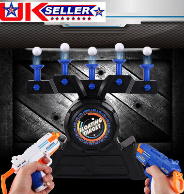 Air Shot Hover Floating Target Game Foam Dart Blaster Shooting Ball Kids Gift UK • 17.85£