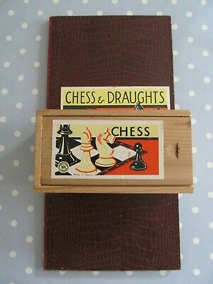 Vintage K & C Chess Set Complete With Board  • 25£