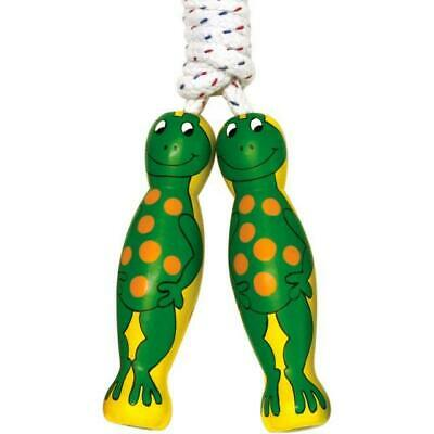 Wooden Frog Skipping Rope • 6.50£