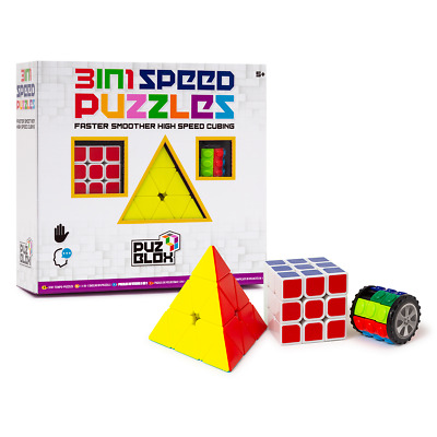 Puz Blox 3-In-1 Speed Puzzles - 3 Pack • 6£