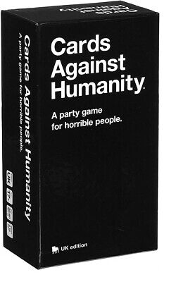 NEW Cards Against Humanity UK Edition Adult Game Version 2.0 600 Card UK Seller • 15.49£