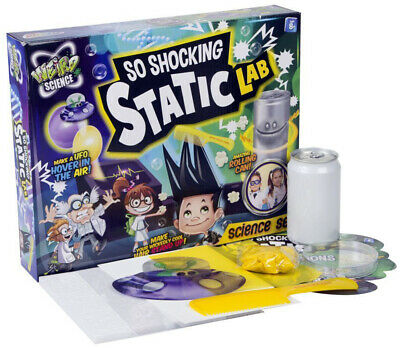 Weird Science So Shocking Static Science Lab Set Fun Experiments Activity Game • 6.99£