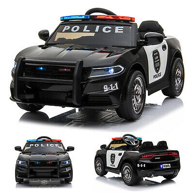 Ride On 12v Kids Electric Police Style Battery Remote Control 2.4g Toy Car • 129.99£