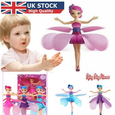 Toys For Girls Flying Fairy Ball LED 3 4 5 6 7 8 9 10 Year Old Age Xmas Toy Gift • 7.54£