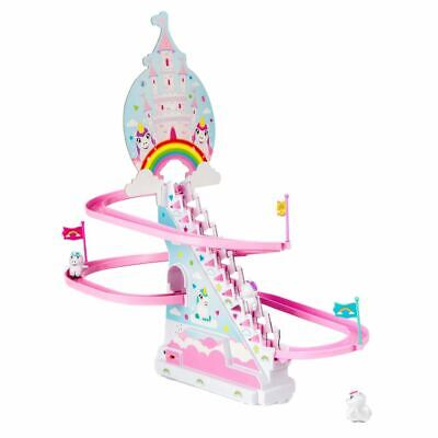 Playful Unicorn Race Racing Retro Toy Board Game - Boxed Birthday Gift Stairs • 15.99£