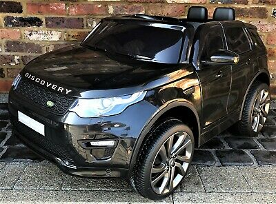 Black Licensed Kids Land Rover Discovery HSE Sport 12v Electric Ride On Car  • 199.95£