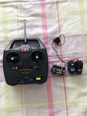 RC Radio Control Vintage Acoms Transmitter And Receiver Plus Alternative Servos • 17£