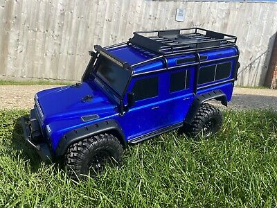 Traxxas Trx4 Landrover Defender With Genuine Light Kit 8/7/20 New Tested Unused • 525£