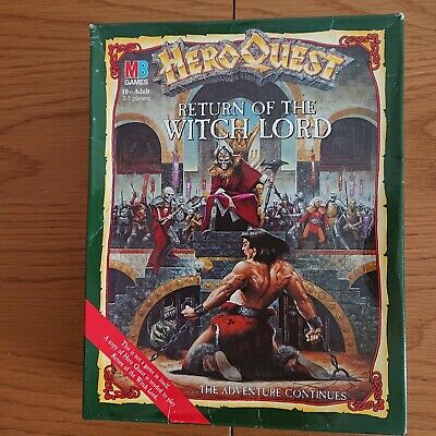 Hero Quest Return Of The Witch Lord • 65£