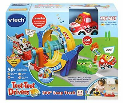 VTech Toot-Toot Drivers 360 Loop Track, Toy Car Racing Track For Boys And Girls • 18.99£