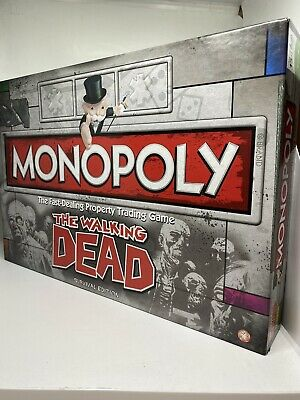 Official Hasbro Monopoly The Walking Dead Edition Board Game - Survival Edition • 10£