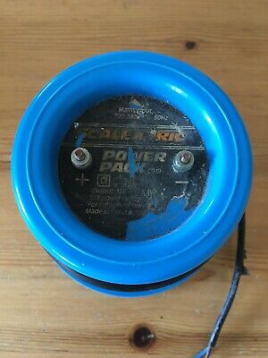 Scalextric Classic Power Pack Supply C919 Transformer Blue Round Type 12V • 0.99£