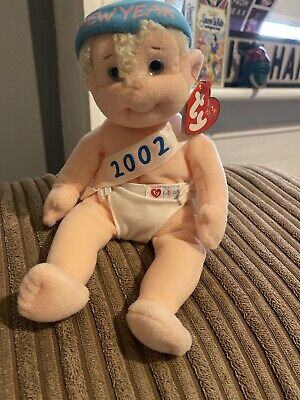 Ty Beanie Babies Kids - Baby 2002 With Outfit - Complete With Tags • 12.99£
