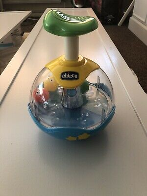 Childrens Chicco Aquarium Spinning Top • 2.99£