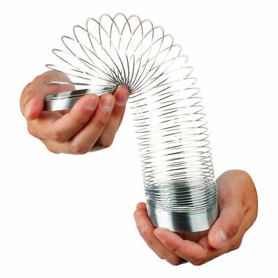 Magic Springy Slinky Metal Spring 6.5cm TY2168 Dia Retro Toy Game Childrens NEW! • 5.10£