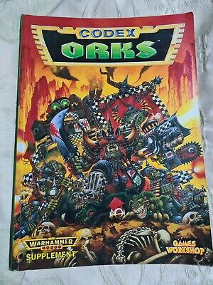 Warhammer 40000 Orks Codex Games Workshop • 2£