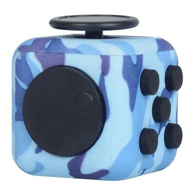 Fidget Cube Spinner Toy ADHD Children Desk Adult Stress Relief Cubes Uk New • 5.99£