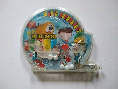 Vintage Bagatelle Magic Roundabout Pinball Game Rare Hand Held Dougal Florence • 15£