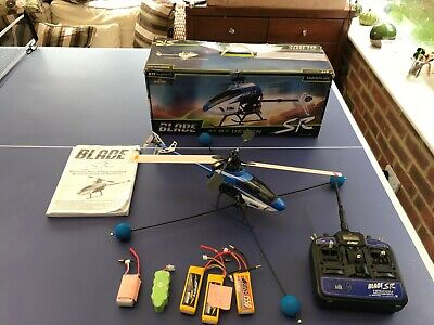 Blade SR Helicopter RTF Radio Controlled. Used With Spare Batteries. • 21£