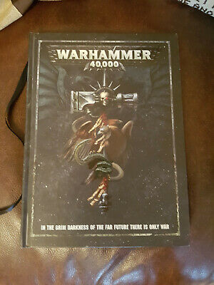 Games Workshop Warhammer 40 000 Rulebook (8th Edition) • 3.99£